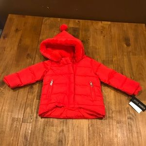 NWT Steve Madden 12m Fleece-lined Puffer Coat